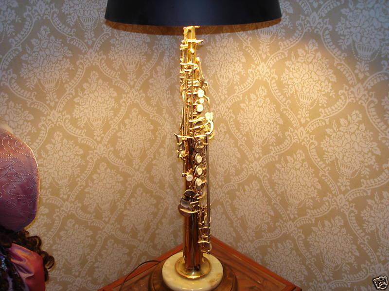 The Perfect Topping For A Sax Player's Lamp | The Bassic Sax Blog
