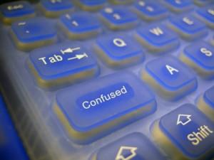 Keyboard Confused