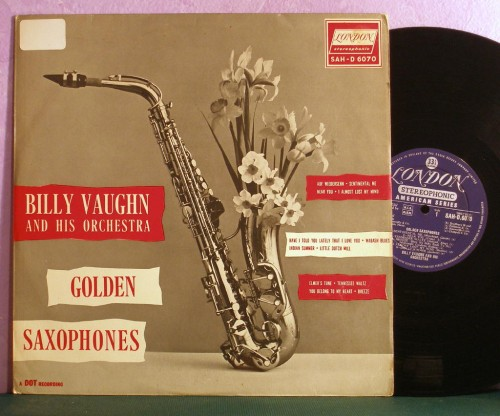 album cover, vintage, saxophone, flowers, LP,