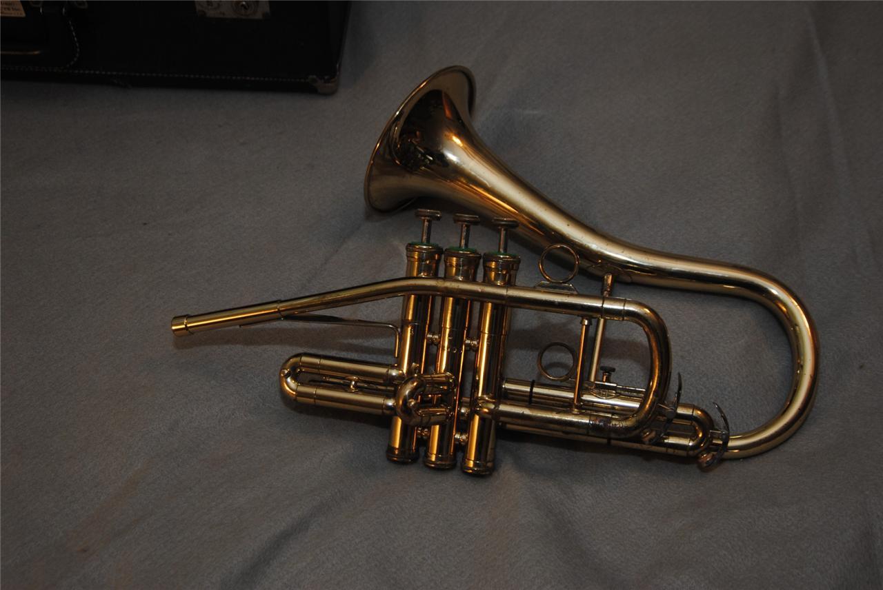 Ever Seen A Sax-Shaped Getzen Trumpet? | The Bassic Sax Blog