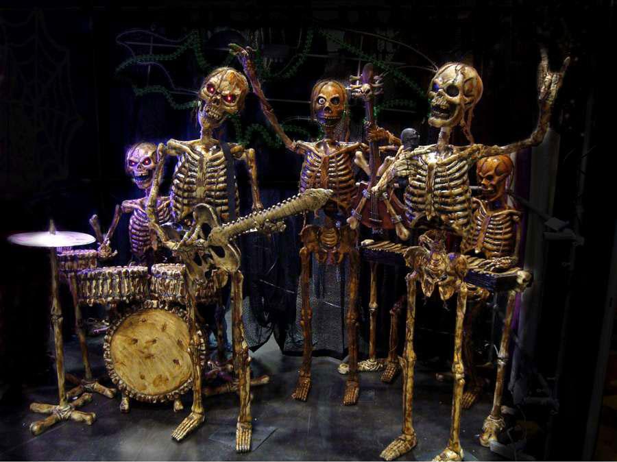 Alfa img - Showing > Skeleton Rock Band