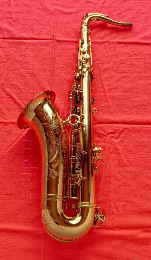 tenor sax, SeaWind tenor saxophone, stencil horn, stencil saxophone,