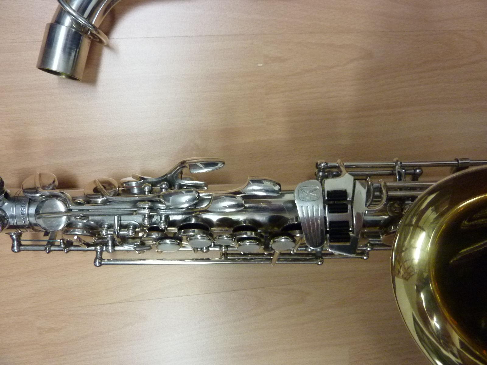 Left Palm & Pinkie Keys, transitional Hohner President alto sax, saxophone, Max Keilwerth