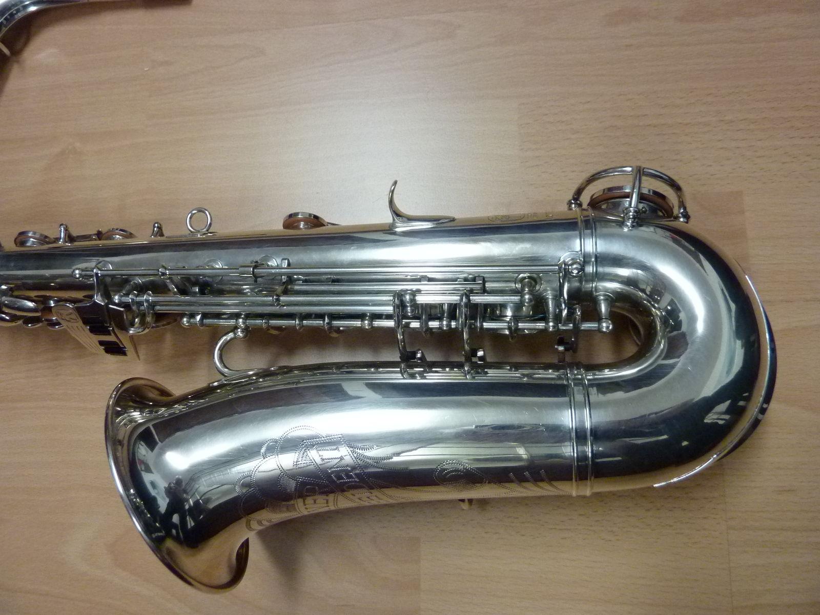 transitional Hohner President alto sax, alto saxophone, Max Keilwerth, silver sax