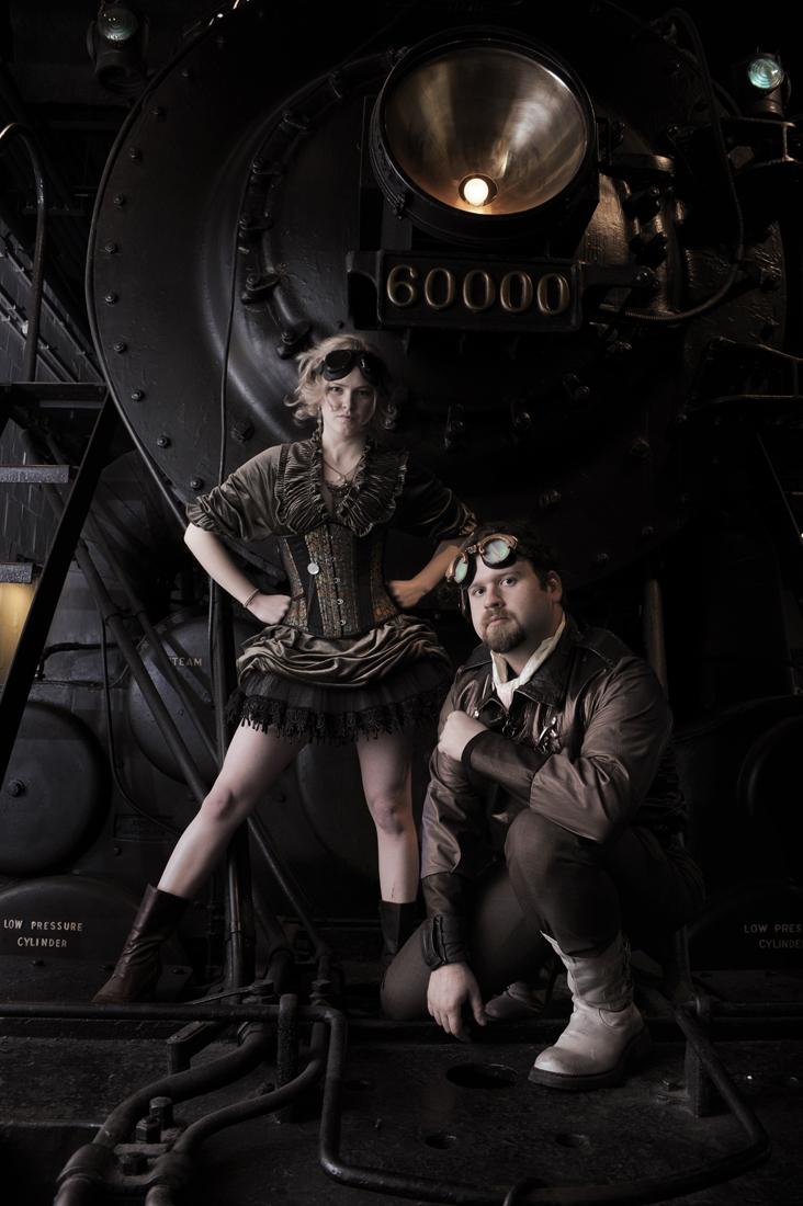 Kyle-cassidy-steampunk, steampunk models