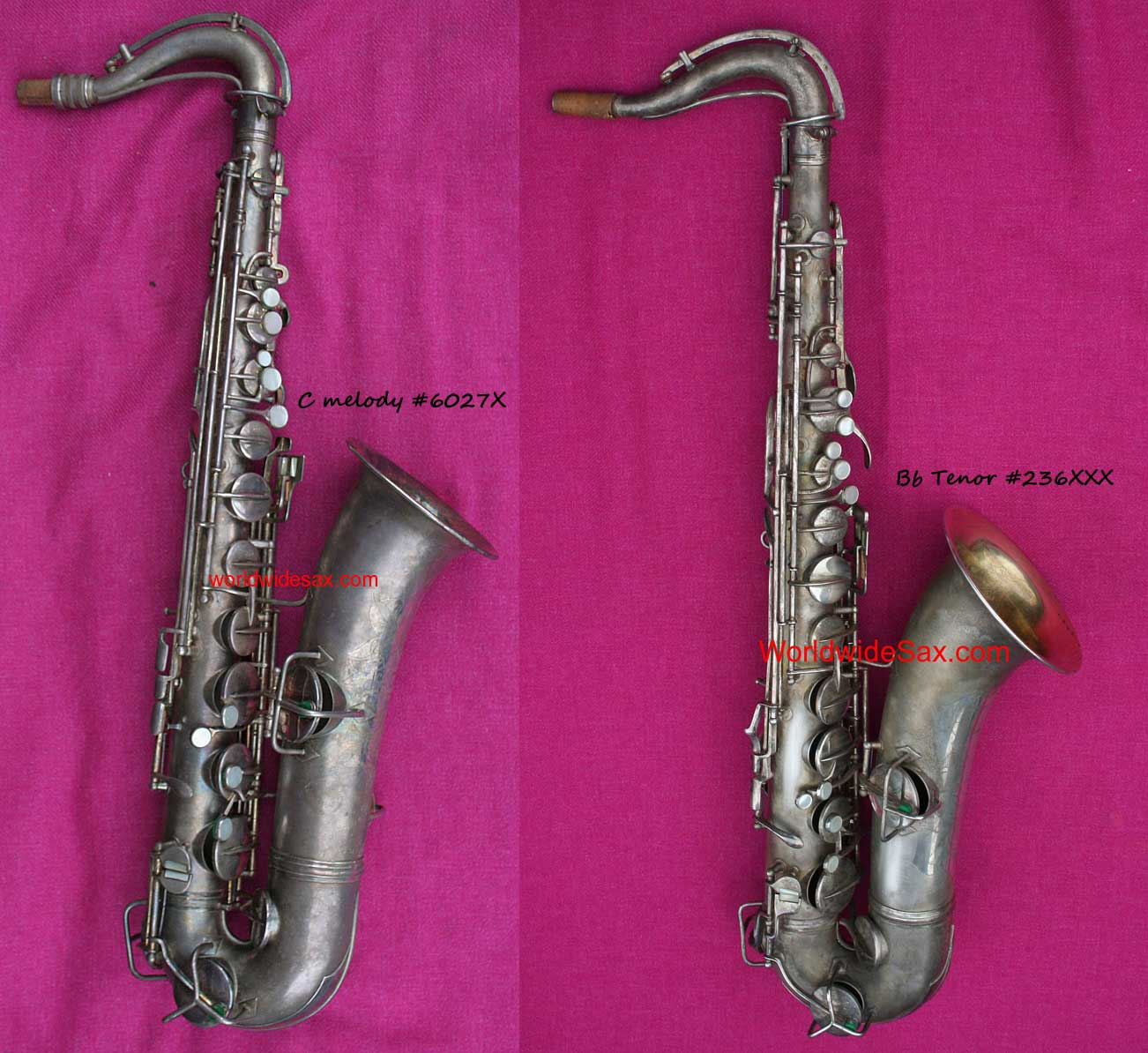 How can you tell a C melody from a Bb tenor sax, Conn tenor-shaped C melody sax, Conn tenor, New Wonder Series