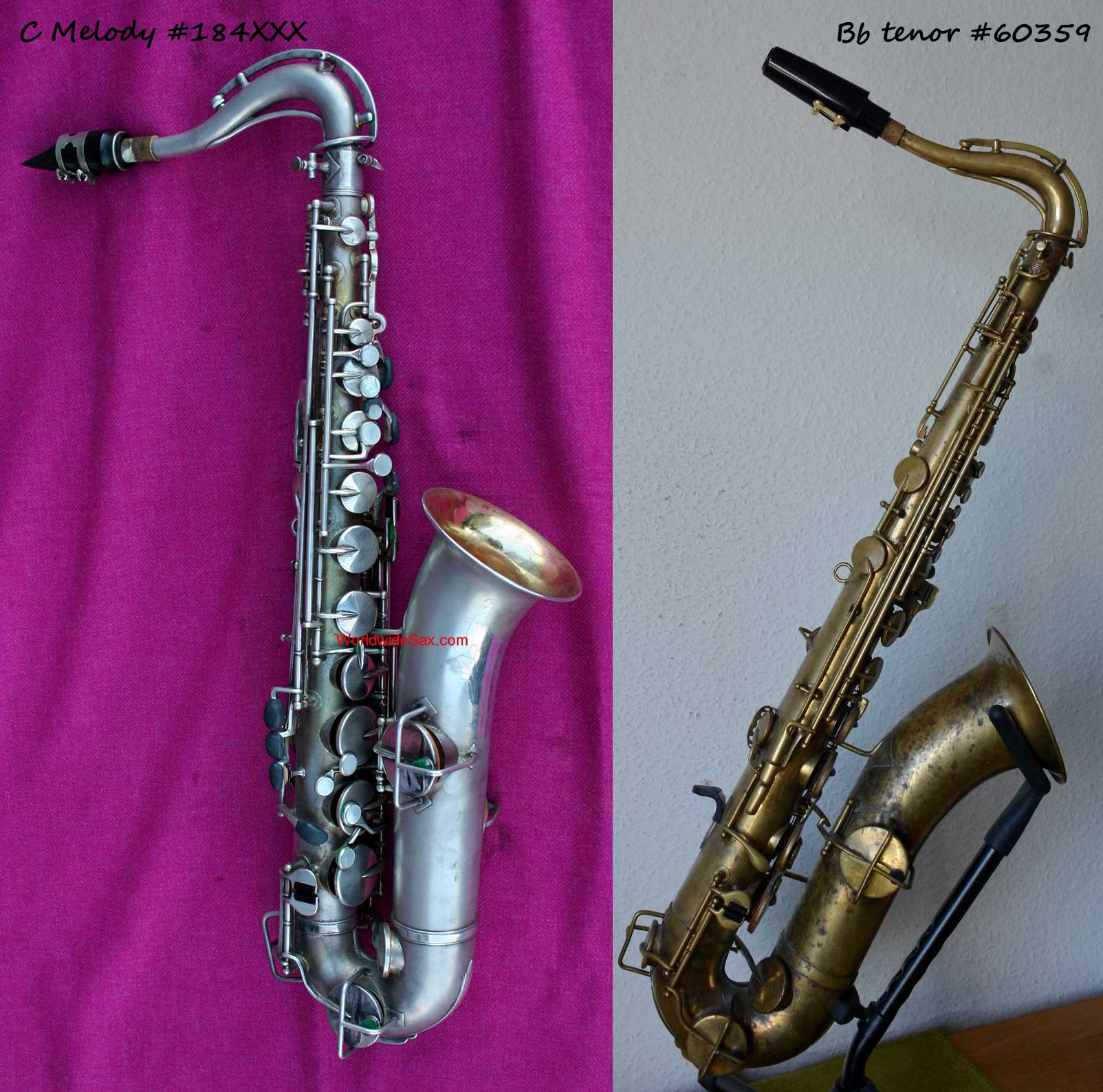 how can you tell a c melody from a bb tenor sax bassic sax. Black Bedroom Furniture Sets. Home Design Ideas