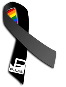 Pulse ribbon, Pulse nightclub, Orlando, FL,