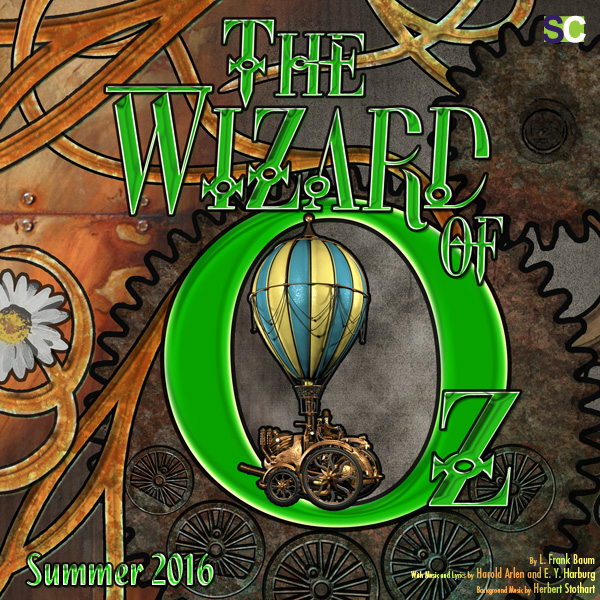 The Wizard Of Oz, musical, Secondary Characters Musical Theatre, Chilliwack BC,