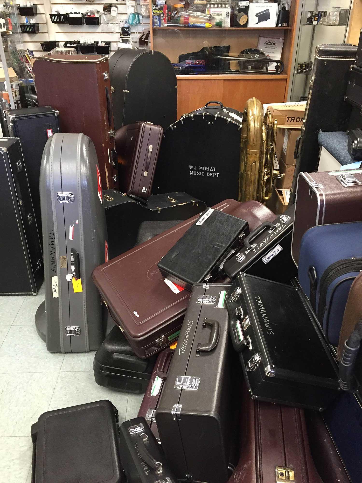 Matterhorn Music, musical instrument cases, instrument repair