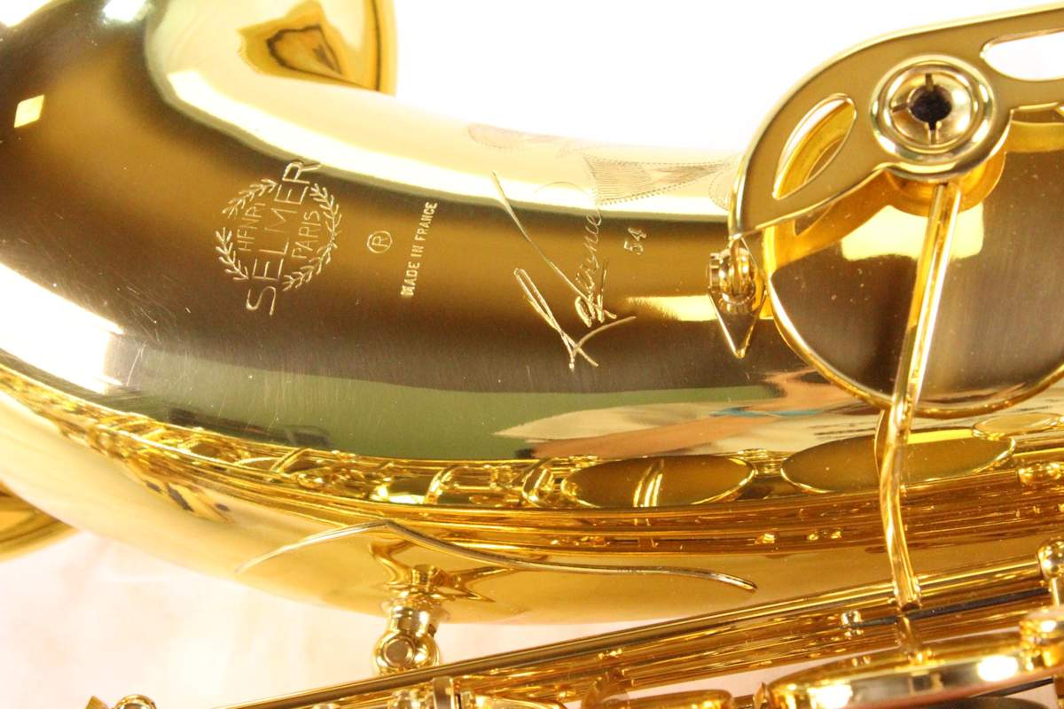 Selmer Reference 54 tenor saxophone, tenor sax, French saxophone,