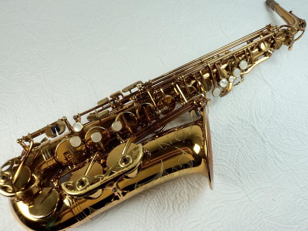 Selmer Reference 54 alto saxophone, alto sax, French saxophone, Selmer Paris