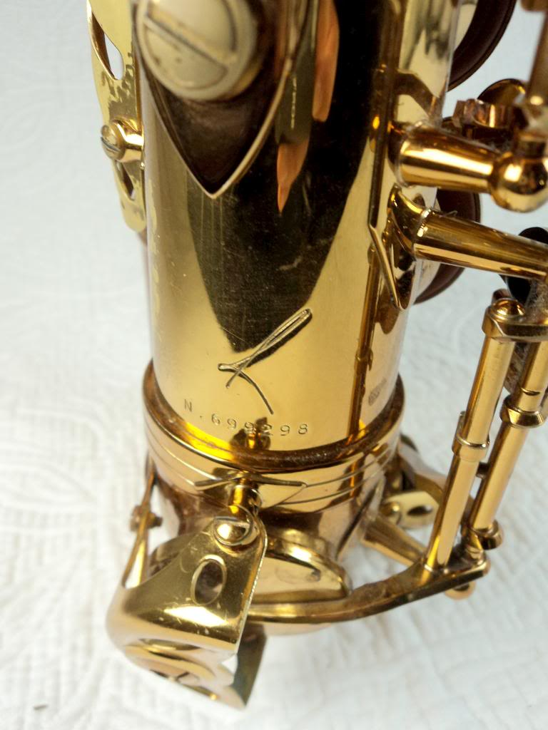 Selmer Reference 54 alto saxophone, serial number,