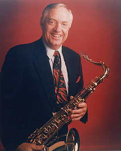 Boots Randolph, tenor saxophone, male musician, tenor sax player