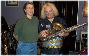 Helen Kahlke, Steve Goodson, tenor saxophone