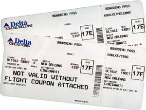 airline tickets, Delta airlines,