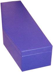 custom bass sax case, purple vinyl covering