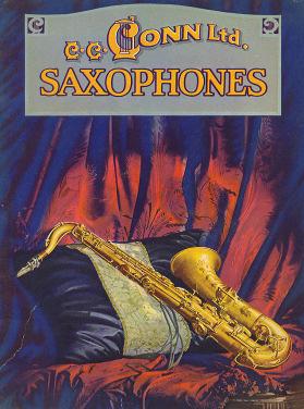 Conn Sax Ad