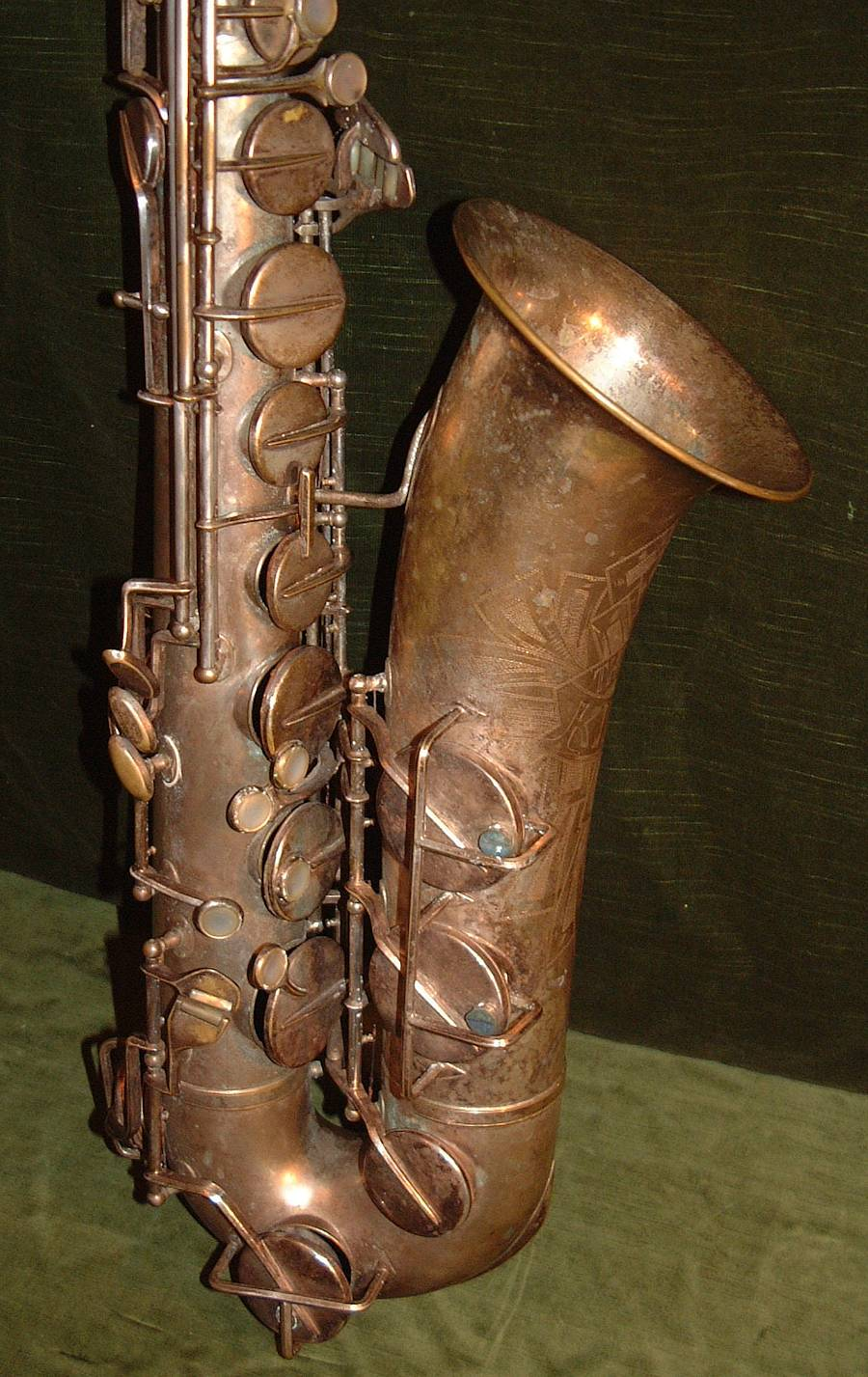 Julius Keilwerth, vintage, saxophone, tenor, German