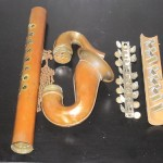 Deposee Sax, vintage French blow accordion