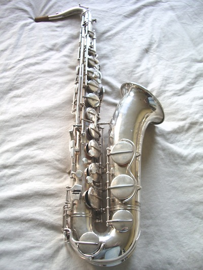 Hohner President, tenor saxophone, silver plated