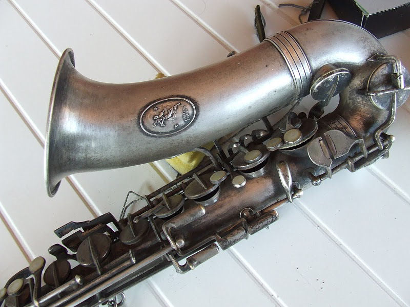 saxophone, alto sax, silver plated,