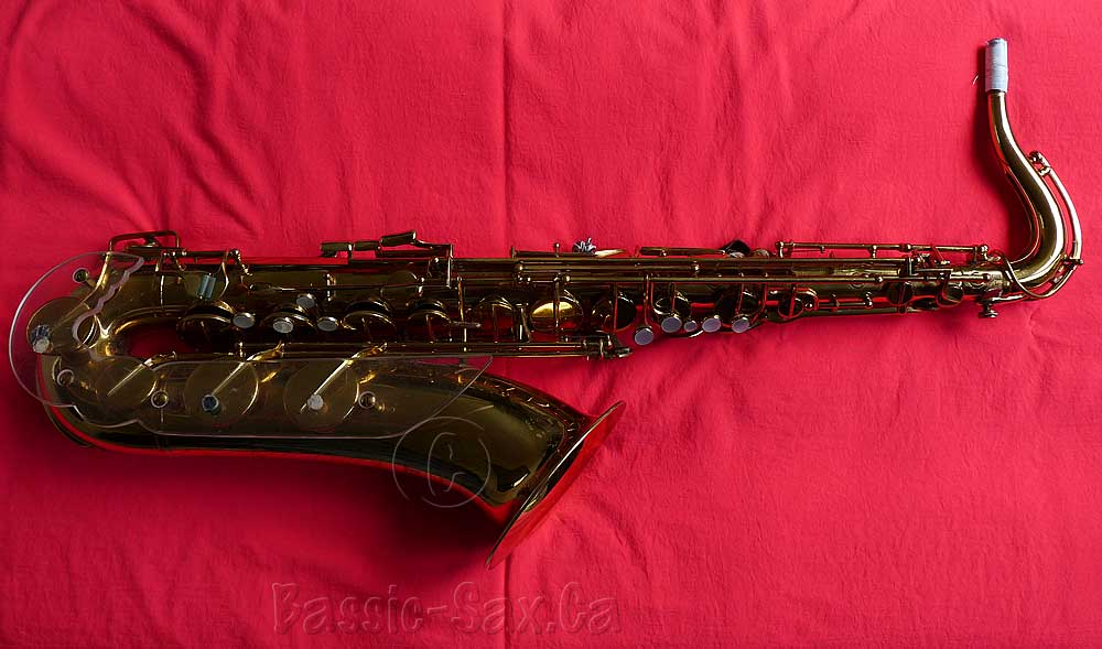 Julius Keilwerth-stencilled Jubilee tenor sax Toneking Series III