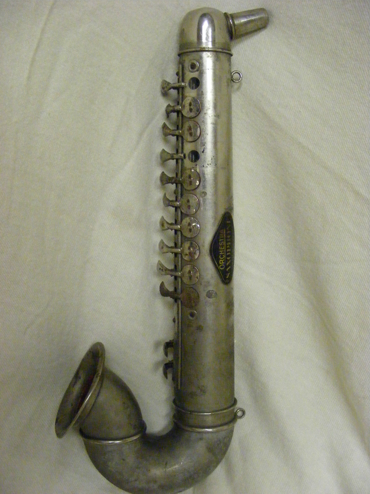 German blow accordion, Orchestra Saxophone, vintage, pre-WWII