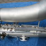 alto saxophone, vintage, German, Weltklang, DDR, fork Eb key, silver plated