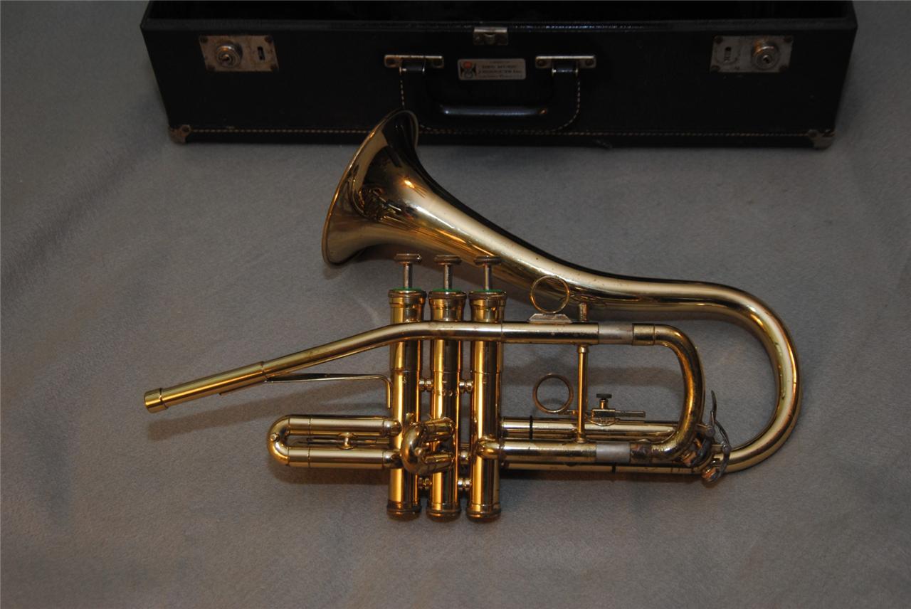 "DEG ""Classic"" Sax-Shaped Trumpet, vintage, 1980s, Getzen"