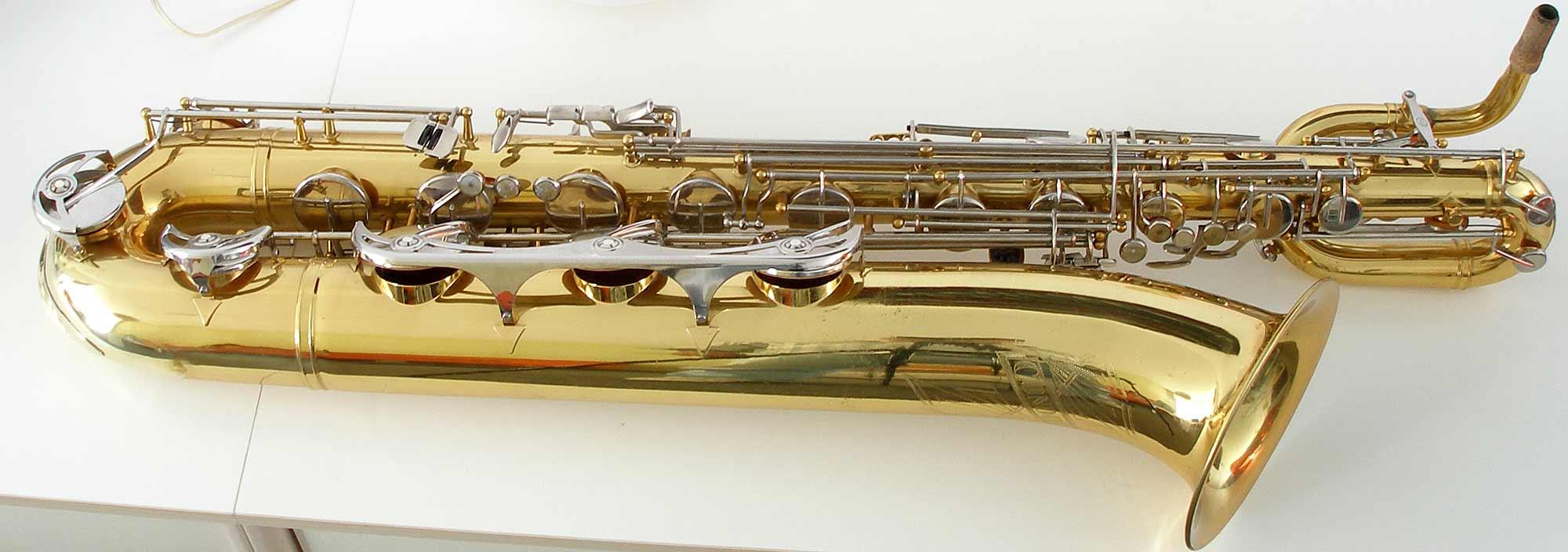 Weltklang vs Blue Label baritones, B&S baritone saxophone, blue label bari sax, low A bari sax,
