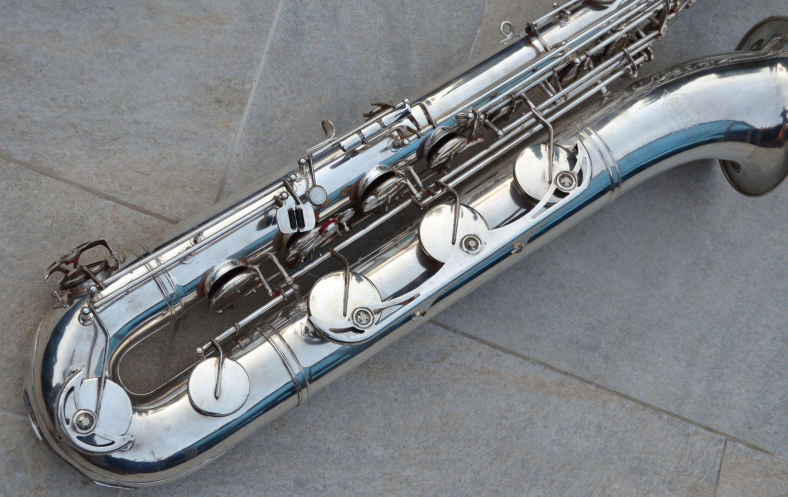 Weltklang vs Blue Label baritones, Weltklang baritone sax, bari sax, silver sax
