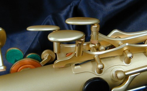 saxophone keys, B&S Series 2001 tenor sax,