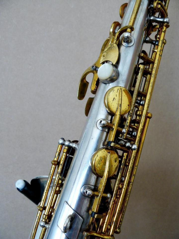Hohner President, alto sax, vintage sax, German sax, Max Keilwerth, saxophone, saxophone keys, octave lever