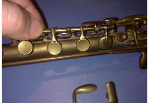 Bb Soprano Sarrusophone - 19th century - Bare Brass