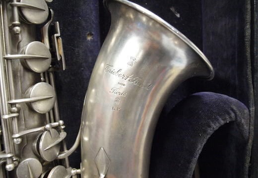 d004013b226 Bb Tenor - sn Unknown - Silver - From cccork on eBay.com