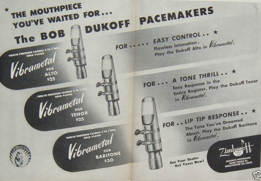 Vintage Mouthpiece Ads