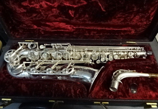 Eb Alto (Low A) Serial # ? (1969) - Additional Keywork