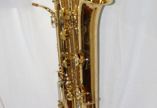 Narrow bore contrabass sax