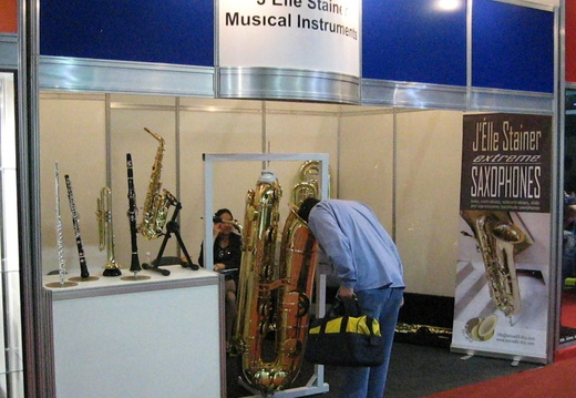 Subcontrabass 2 At The Expomusic 2010 Sao Paulo Brazil