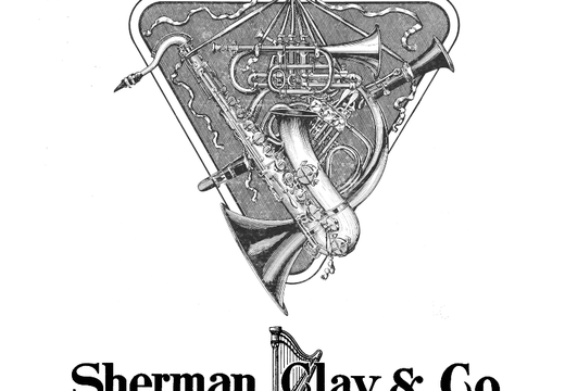 1915 Catalogue Band Instruments - Sherman, Clay, and Co.