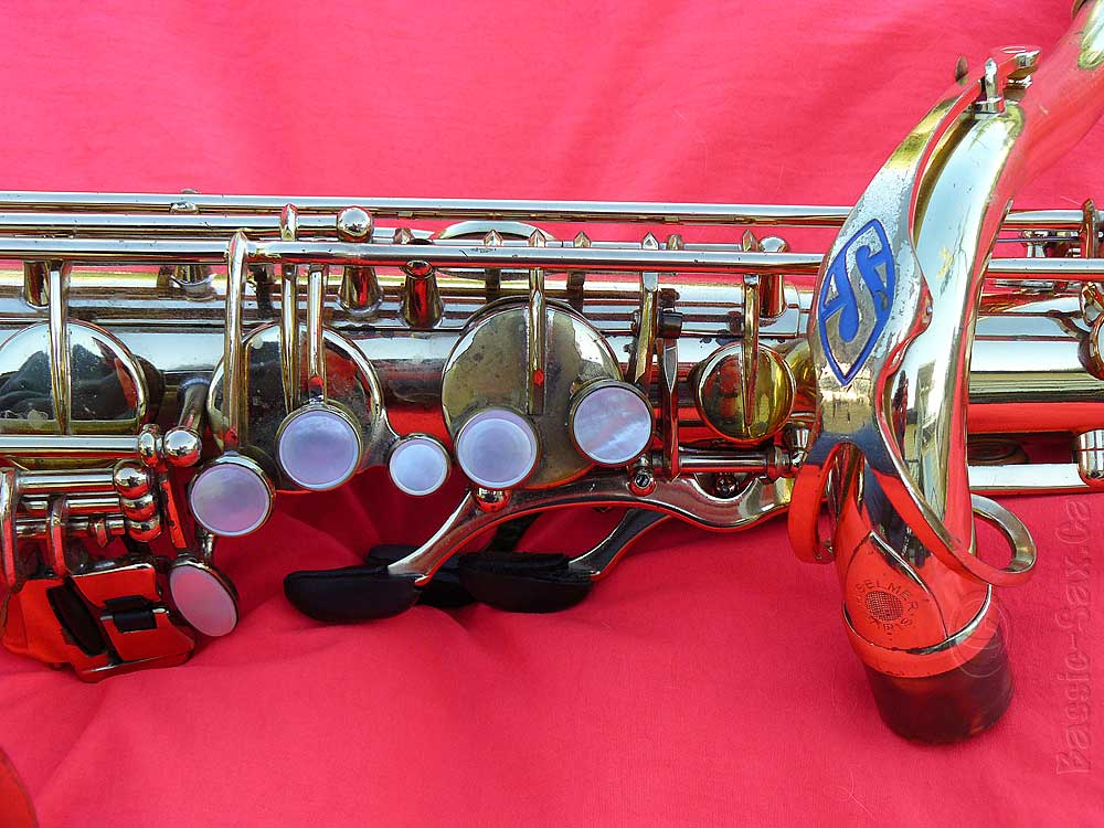 Upper Stack Keys & Original Selmer Neck